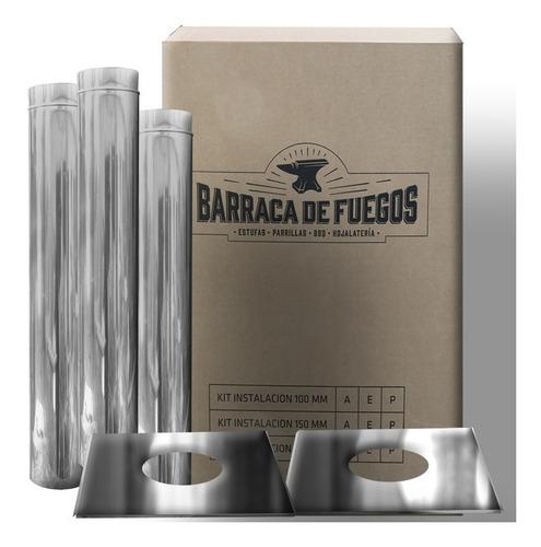 Kit Materiales 150 Mm A. Inox Extra Chimenea