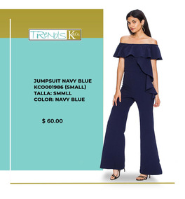 Jumpsuit Navy Blue