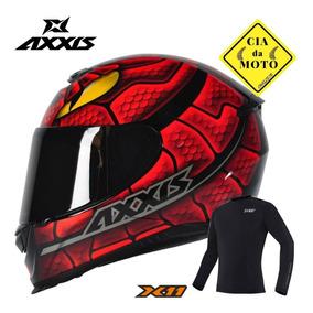 Capacete Mt Axxis Eagle Snake Gloss Mais Blusa X11 Original