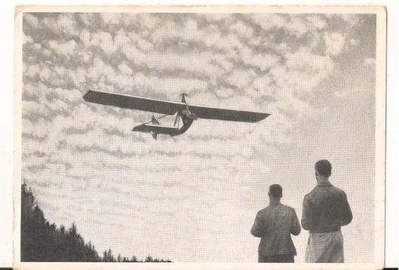 Postal De Antiguo Avion (sp)