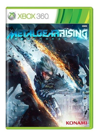 Metal Gear Rising Revengeance Xbox 360 Mídia Física