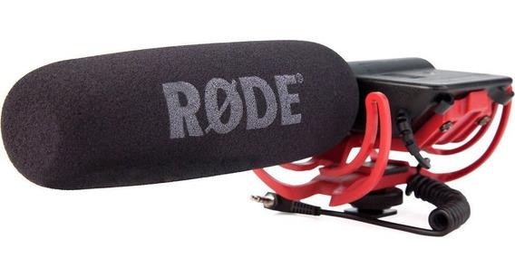 Microfone Rode Videomic - Sistema Rycote Lyre Novo