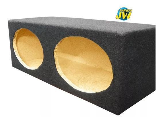 Caja Acustica Doble 6x9 Pulgadas Alfombrada Litrada Mundojw