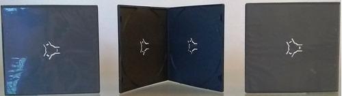 Estuches Caja Slim Doble De 5mm Para Cd-r Dvd-r