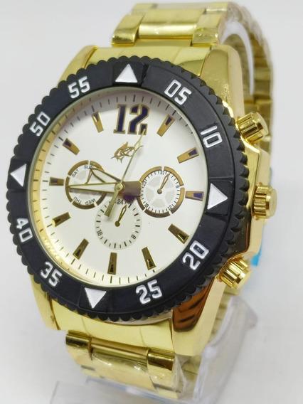 Relógio Masculino Potenzia + Caixa Vários Modelos