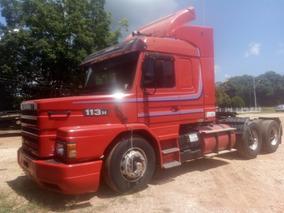Scania 113 360,ano:98,vermelho,topline,trucado,ótimo Estado.