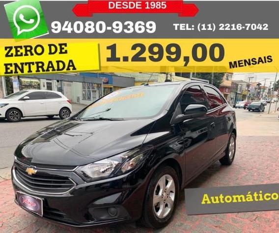 Chevrolet Onix 1.4 Lt Aut. 5p 2019 Zero De Entrada