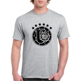 Camiseta Estampada Tigres Retro Negro