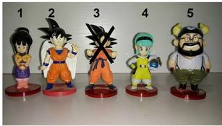 Muñecos Dragon Ball Minis