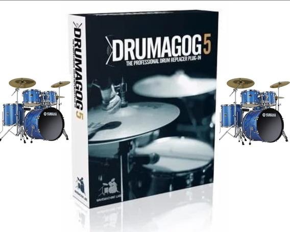 Plugins - Trigger Drumagog 5 Platinum + Biblioteca De Sons