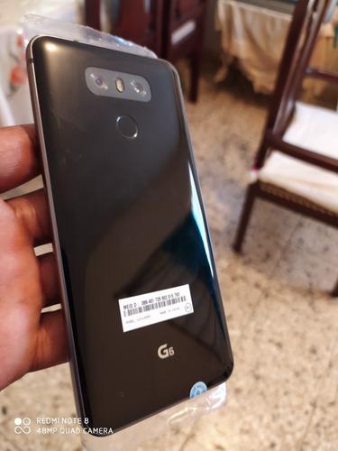 LG G6 32gb Negro , Doble Cámara ¿ Lector De Huellas ¿ Nuev