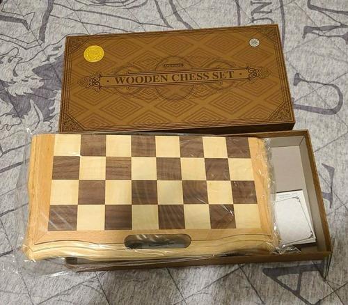 Juego De Ajedrez´de Madera Magnetico 15 Pulgadas Tipo Caja