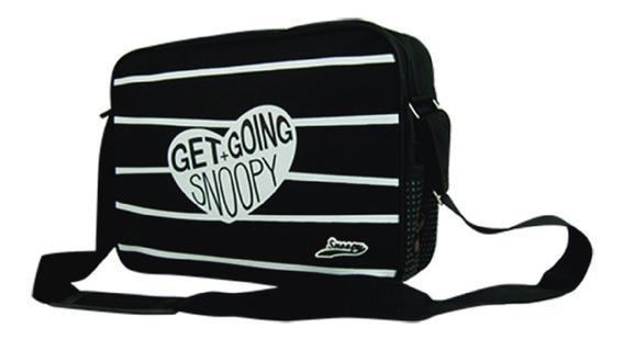 Morral Cartera Super Oferta Snoopy Lic. Original Snp-6220