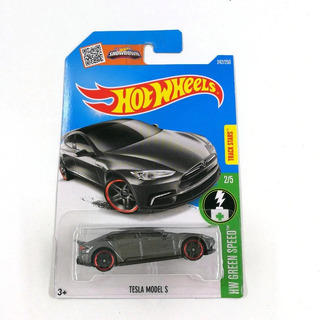 Hot Wheels 2016 - Green Speed 2/5 - Tesla Model S