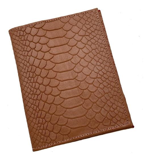 Porta Pasaporte Y Visa 100% Piel / Personalizado