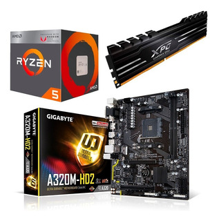 Combo Actualizacion Pc Gamer Amd Apu Ryzen 5 2400g 8gb 2400