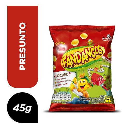 Salgadinho De Milho Presunto Elma Chips Fandangos Pacote 45g