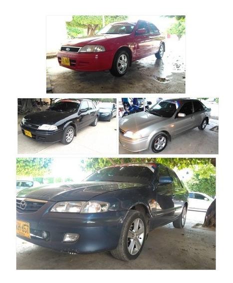 Vendo 4 Vehículos Ford Laser Y 1 Vehículo Mazda Milenio