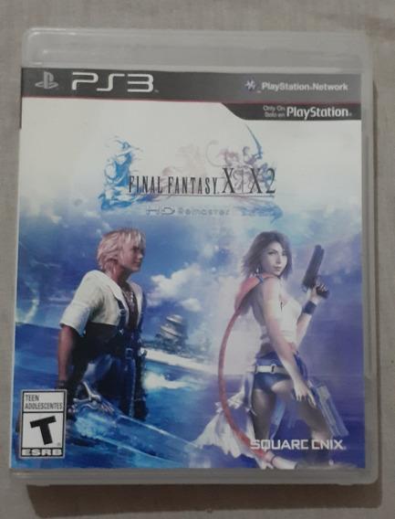 Final Fantasy X & X-2 Hd Remaster Mídia Física Original Ps3