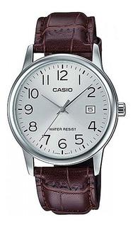 Reloj Casio Mtp-v002l Hombre Cuero, Impacto Online Obelisco