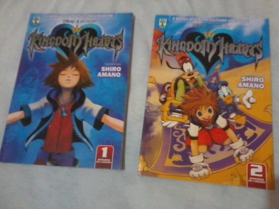 Mangás Kingdom Hearts Vol 1 E 2