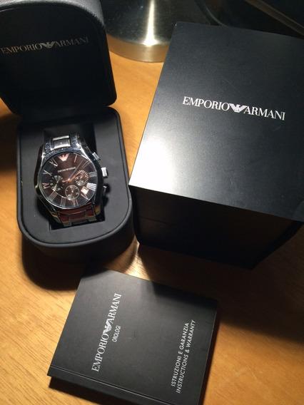 Relógio Emporio Armani Masculino Novo