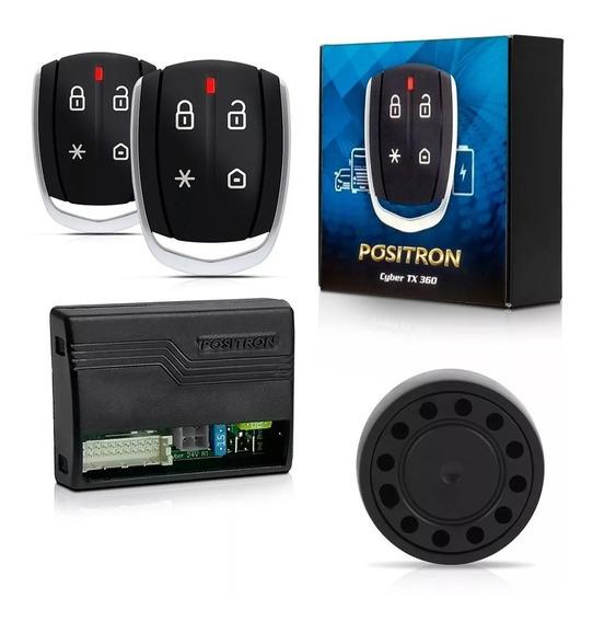 Alarme Automotivo Positron Cyber Tx360 Bivolt 12v