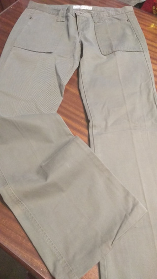 Pantalon Mab Verde Militar Talle 26