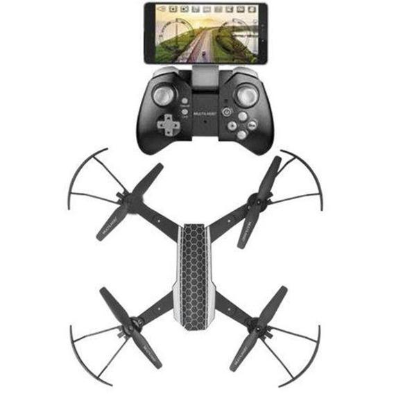 Drone Shark Wifi Com Câmera Hd Multilaser Droni