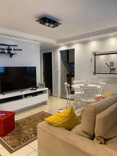Apartamento À Venda, 50 M² Por R$ 203.000,00 - Vila Camilópolis - Santo André/sp - Ap11984