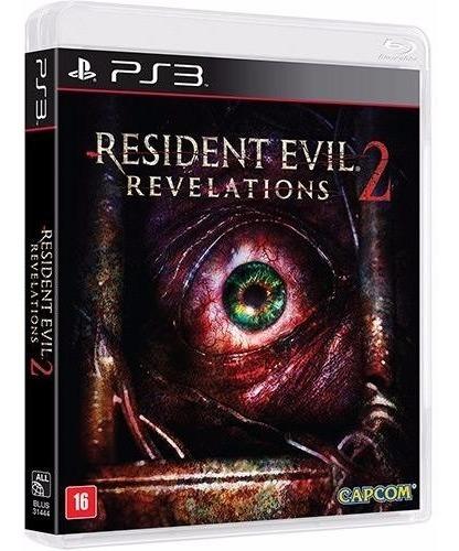 Jogo Terror Mídia Física Resident Evil Revelations 2 Pra Ps3