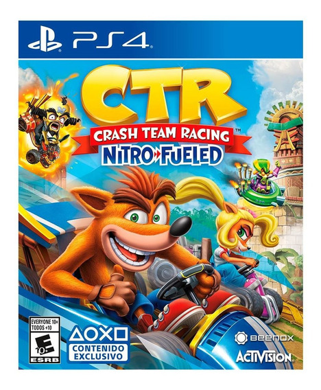 Juego Crash Team Racing - Latam Ps4