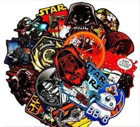 Kit Adesivos 100 Peças Star Wars Stickers
