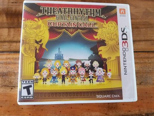 Juego Nintendo3ds Theatrhythm Final Fantasy