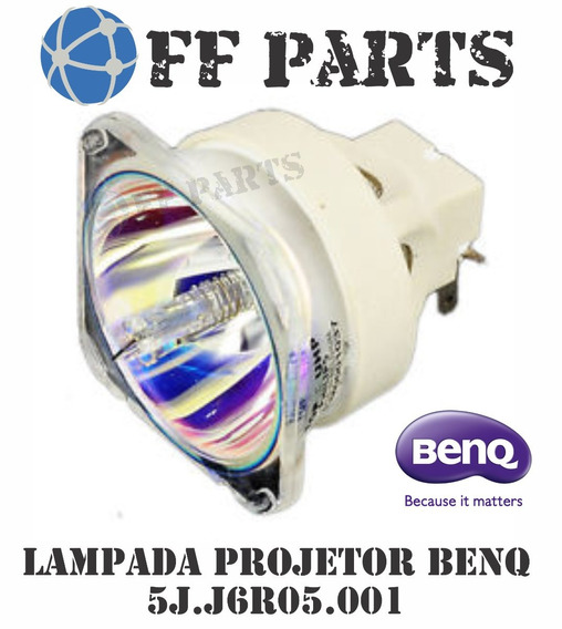Lampada P/ Benq 5j.j6r05.001 Mx822st Mw822st Hc1200