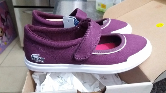 Zapato Tenis Lacoste Original Para Niña !!! Envio Gratis !!!