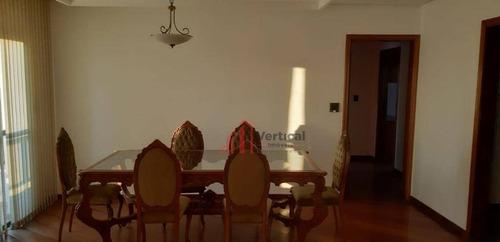 Apartamento Com 3 Dormitórios Para Alugar, 132 M² Por R$ 3.000,00/mês - Anália Franco - São Paulo/sp - Ap5893