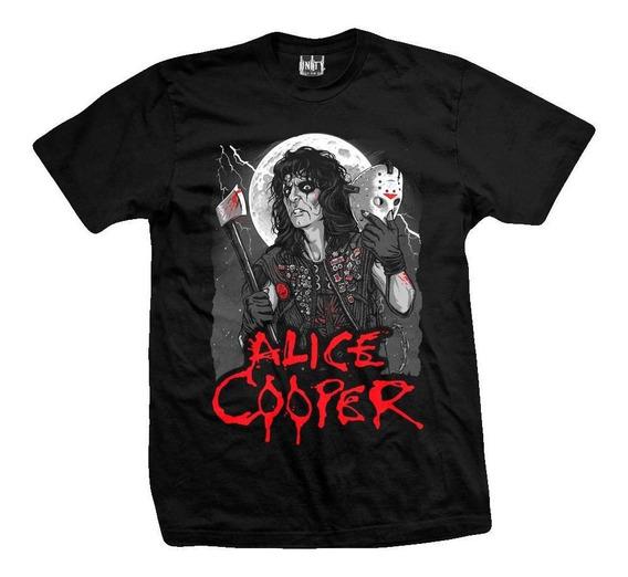 Remera Alice Cooper Unmasked