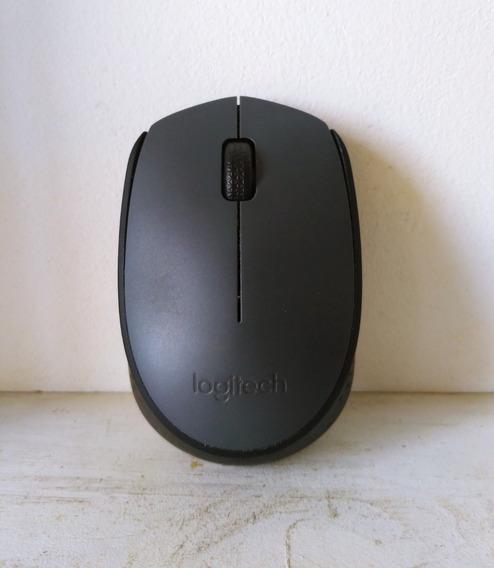 Mouse Wireless Logitech M170 Usado Barato