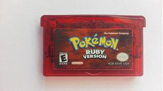 Pokemon Rubi, Ruby Version Original Para Game Boy Advance