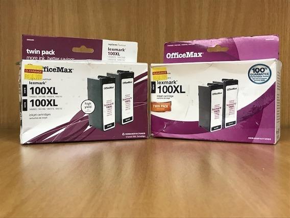 Cartuchos Lexmark 100 Xl,original,nuevos,sellados,vigentes.