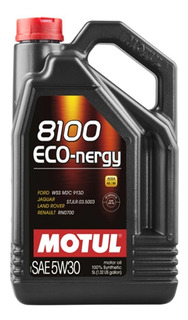 Motul 8100 Eco Nergy 5w30 5ltrs Ford 913d Envios