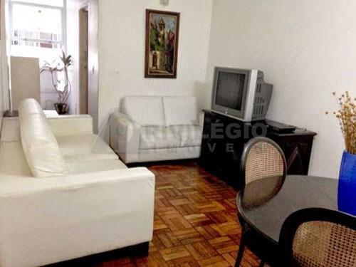 Imagem 1 de 13 de Apartamento À Venda, 2 Quartos, Copacabana - Rio De Janeiro/rj - 16366