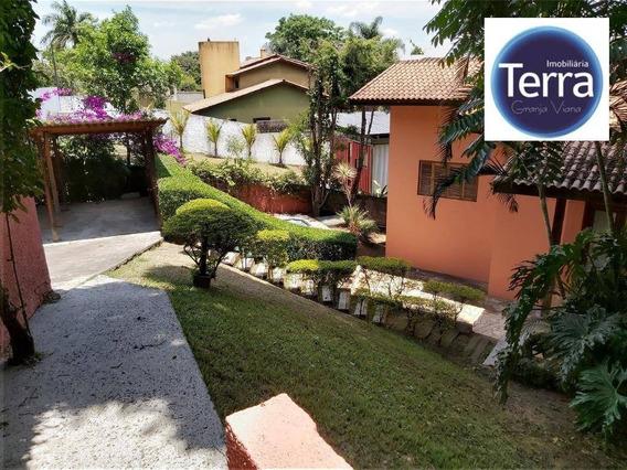 Casa Residencial Para Venda E Locação, Fazendinha, Granja Viana - Ca0150
