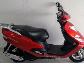 Suzuki An Burgman 125i 2013 Vermelha