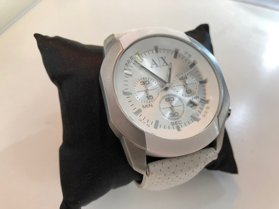 Relogio Armani Exchange Original Modelo Ax1168 Banco