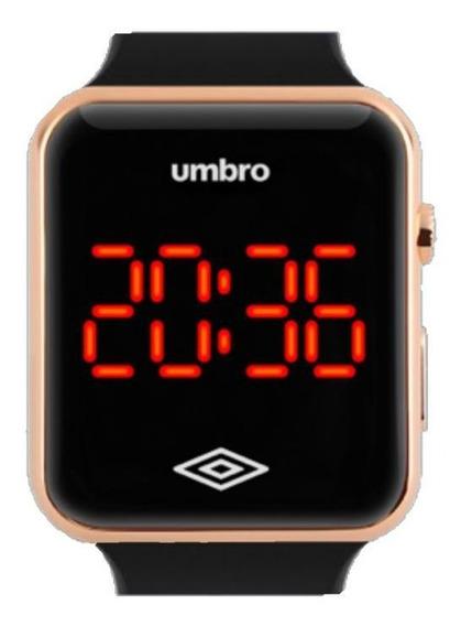 Relógio Umbro Masculino Ref: Umb-led-g Digital Led Rosé