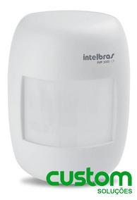4un Sensor Ivp C/ Fio Ivp 3000 Cf Intelbras C/ Articulador