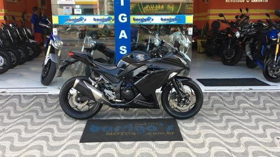 Kawasaki Ninja 300r 2013 Preta Impecável