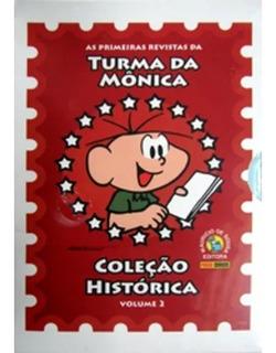 Coleção Histórica Turma Da Mônica Box 2. Novo.